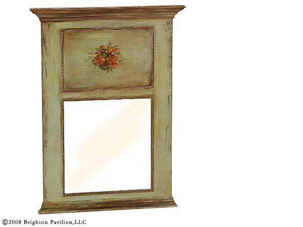 Trumeau Mirror Gilt And Painted Trumeau Mirror Greek Key